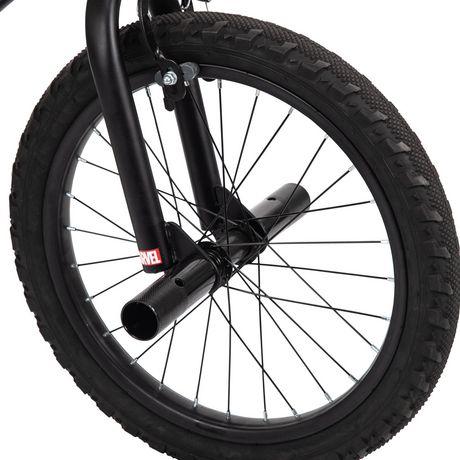 Vélo BMX Panthère Noire de Marvel de 18 po en acier pour garçons par Huffy - image 6 de 7