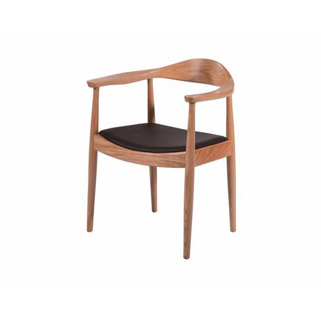 Nicer Furniture Wooden Frame Cushion Presidential Dining Arm Chairs - image 1 of 1