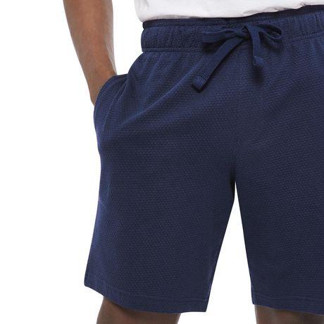 George Men's Textured Sleep Shorts - image 4 of 6
