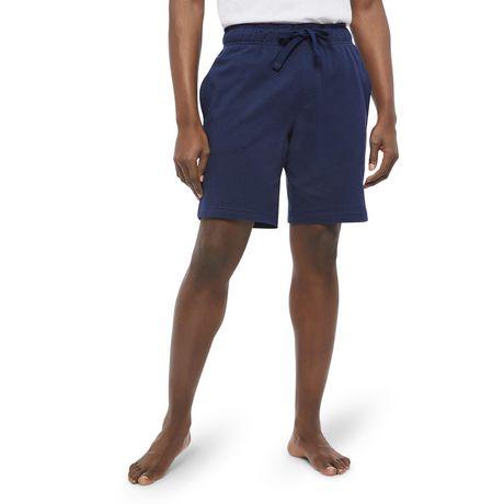 George Men's Textured Sleep Shorts - image 1 of 6