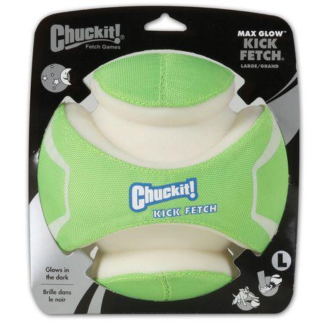 CHUCKIT! KICK FETCH MAX GLOW LARGE DOG TOY - image 1 of 4