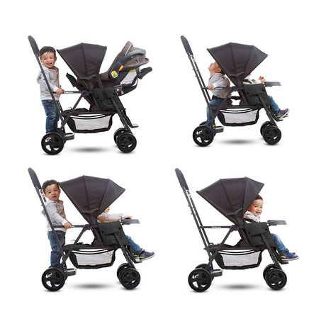 Joovy Caboose Graphite Stand-on Tandem Stroller - image 4 of 5