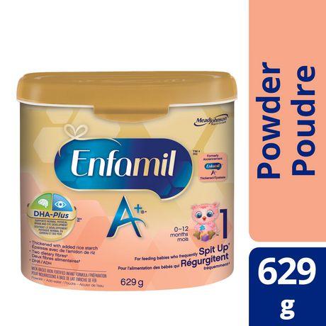 Enfamil A+ pour régurgitations frequent, en poudre, contenant - image 1 de 3