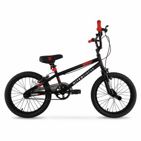 "18"" Hyper Nitro Circus Boy's Steel BMX Bike - image 1 of 6"