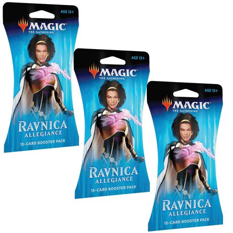 Magic: The Gathering Ravnica Allegiance 3PK Blister Bundle - image 1 de 1