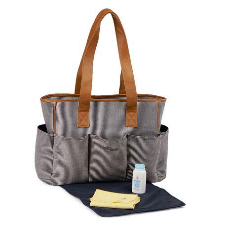 Fourre-tout à 7 poches de Baby Boom - À rayures fines bleu marine - image 4 de 7