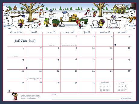 2019 Motherword Ultimate Family Calendars Large Walmart Canada