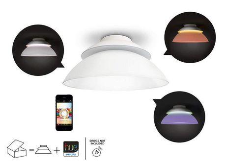 Philips Hue Au-delà de Dimmable LED Smart Plafonnier - image 2 de 3