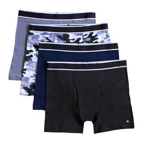 e9d9b8e784a8 Athletic Works Men's Underwear 4-Pack Boxer Briefs | Walmart Canada
