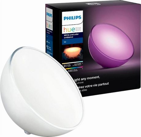 PHILIPS Hue White Ambiance Wellner Dimmable LED Smart Table Lamp - image 2 of 2
