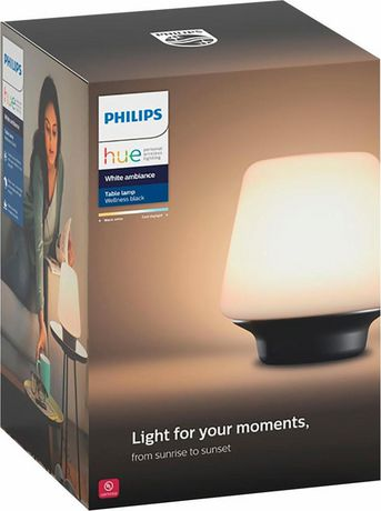 PHILIPS Hue White Ambiance Wellness Dimmable LED Smart Table Lamp - image 3 of 3