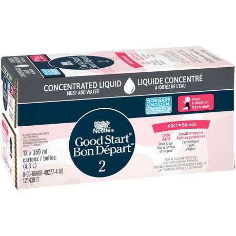 NESTLÉ Good START with PRO-BLEND Stage 2 Baby Formula, Concentrate - image 4 of 8