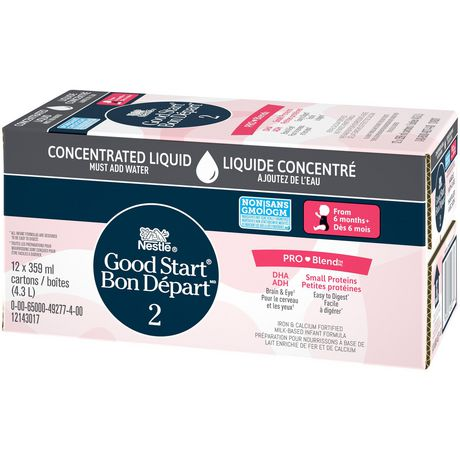 NESTLÉ Good START with PRO-BLEND Stage 2 Baby Formula, Concentrate - image 5 of 8