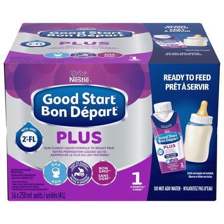 Boîte de préparation pour bébé Nestlé Bon Depart