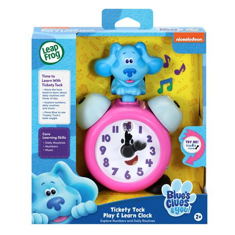 LeapFrog Blue's Clues & You!™ Tickety Tock Play & Learn Clock - English Version - image 4 of 6