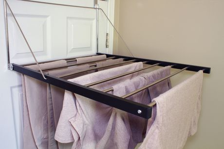 Greenway GCL7010SS Stainless Steel Over The Door Drying Rack