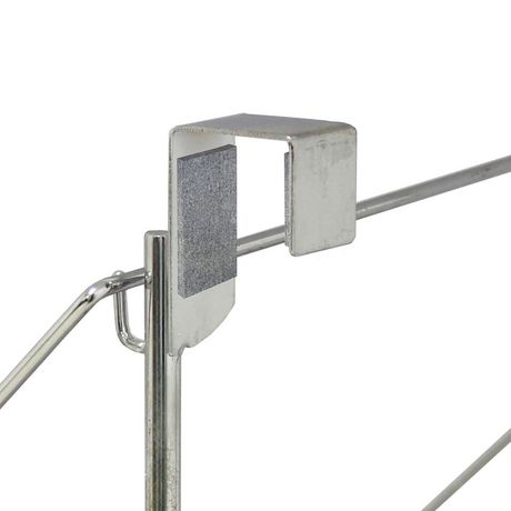 Greenway GCL7010SS Stainless Steel Over-the-door Drying Rack - image 4 of 5