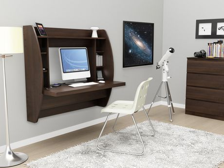 Bon Prepac Floating Desk With Storage