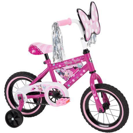 "Disney Minnie Girls' 12"" Bike, by Huffy - image 1 of 6"