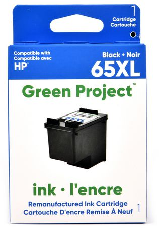 Green Project HP 65 XL Black Remanufactured Ink Cartridge ...