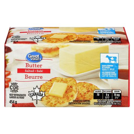 Great Value Salted Butter - image 1 of 6