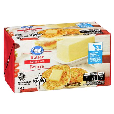 Great Value Salted Butter - image 2 of 6