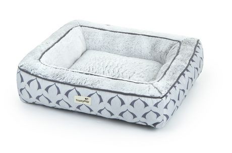 trustypup memory beauty dot print pet bed   walmart.ca