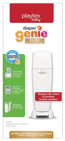 Playtex Baby Diaper Genie Elite Diaper Pail System with Front Tilt Pail for Easy Diaper Disposal - image 6 of 6