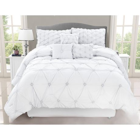 Safdie Amp Co Home Deluxe Collection White 100 Polyester