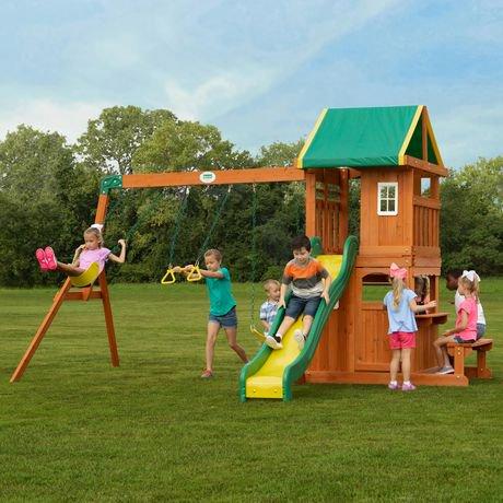Backyard Discovery Oakmont Swing Set Walmart Canada