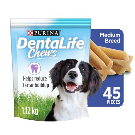 DentaLife Chews, Dental Dog Treats for Medium Breed Dogs - image 1 of 9