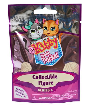 KITTY IN MY POCKET  Blind Bags Collectible Series 2 6x