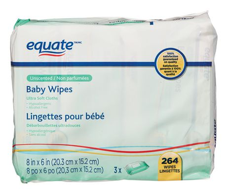 Equate Unscented Baby Wipes Walmart Canada