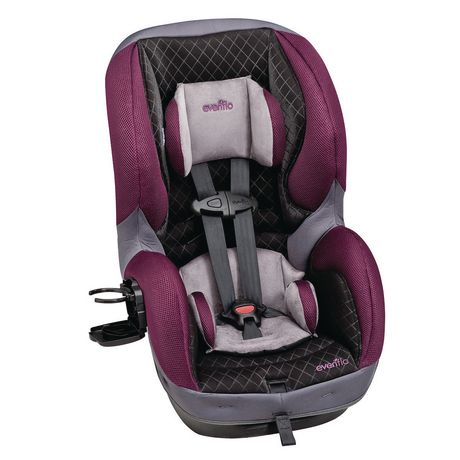 Evenflo SureRide DLX Sugar Plum Convertible Car Seat