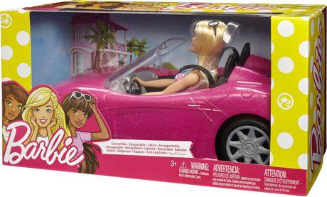 Barbie – Décapotable rose et poupée - image 5 de 6