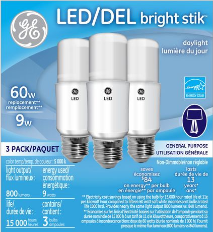 Led Light Bulbs Replacement Lighting For Home Walmart Canada