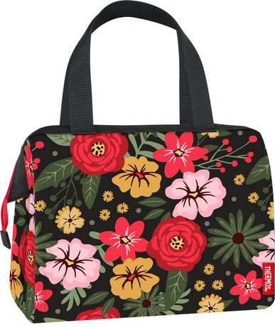 Thermos Duffle Lunch Tote with Quilt Pattern - image 2 of 2