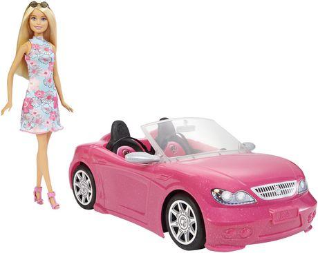 Barbie – Décapotable rose et poupée - image 4 de 6