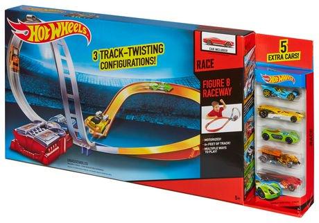 how to build hot wheels figure 8 raceway