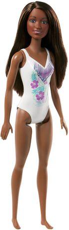 Barbie – Poupée Plage – Imprimé tropical - image 1 de 4