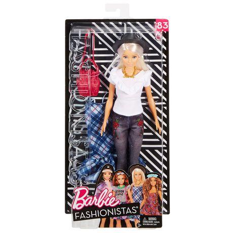 Barbie Fashionistas #83 Denim Floral Doll