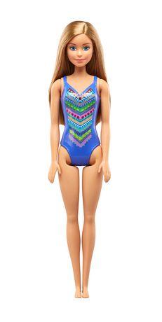 Barbie – Poupée Plage – Motif tricoté - image 1 de 5
