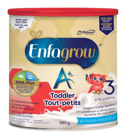 Enfagrow A+® Toddler Nutritional Drink, Milk Flavour Powder, Value Pack - image 2 of 4
