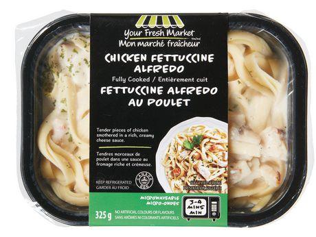 Fettuccine alfredo au poulet Mon marché fraîcheur - image 1 de 2