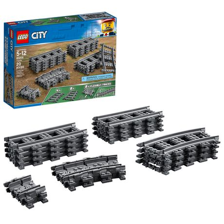 LEGO City Tracks 60205 Building Kit (20 Piece) - image 1 of 6