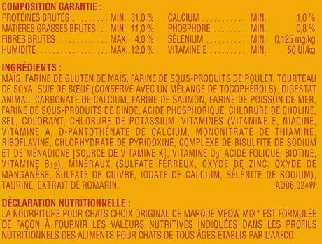 Meow Mix Original Choice Cat Food 4kg - image 4 of 4