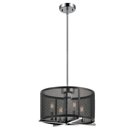 Globe Electric Aliya 4-Light Matte Black Mesh Cage Chandelier | Walmart Canada  sc 1 st  Walmart Canada & Globe Electric Aliya 4-Light Matte Black Mesh Cage Chandelier ... azcodes.com