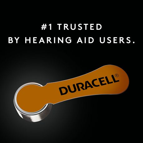 Duracell Hearing Aid Zinc Air Batteries with Easy-Fit Tab, Size 312, 12 Pack - image 4 of 4