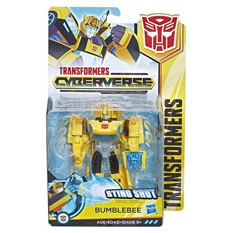 #1 Transformers Cyberverse Action Figure Bumblebee Sting Shot Scout Class NEW Film-, TV- & Video-Action- & -Spielfiguren