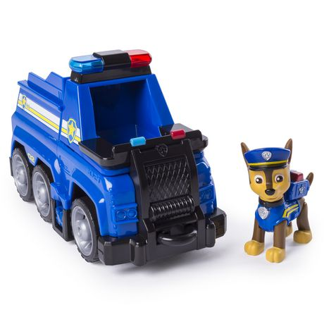 PAW Patrol Ultimate Rescue - Chase's Ultimate Rescue Police Cruiser with Lifting Seat And Fold-out Barricade, for Ages 3 And up - image 1 of 7